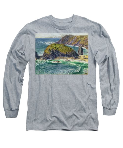 Asparagus Island Long Sleeve T-Shirt by William Holman Hunt