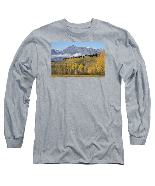 Aspen Colours Long Sleeve T-Shirt by Shirley Mitchell