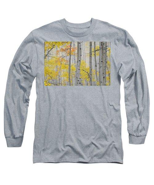 Aspen Forest Texture Long Sleeve T-Shirt