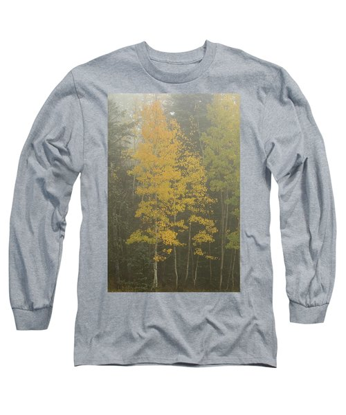 Aspen In The Fog Long Sleeve T-Shirt