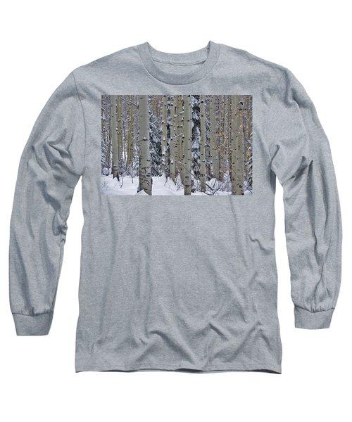 Aspen Snow Long Sleeve T-Shirt