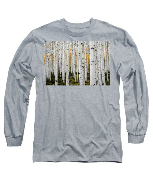 Aspens And Gold Long Sleeve T-Shirt