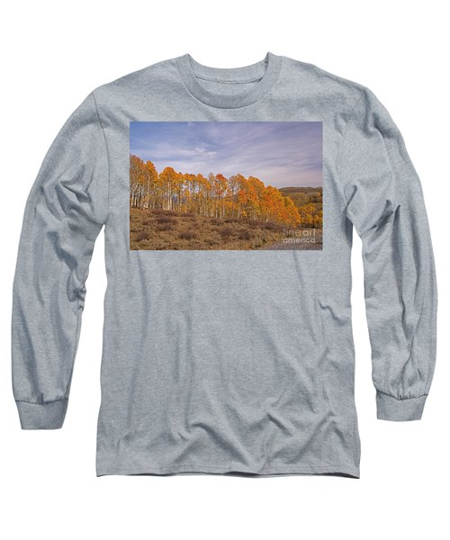 Aspens In Utah Long Sleeve T-Shirt