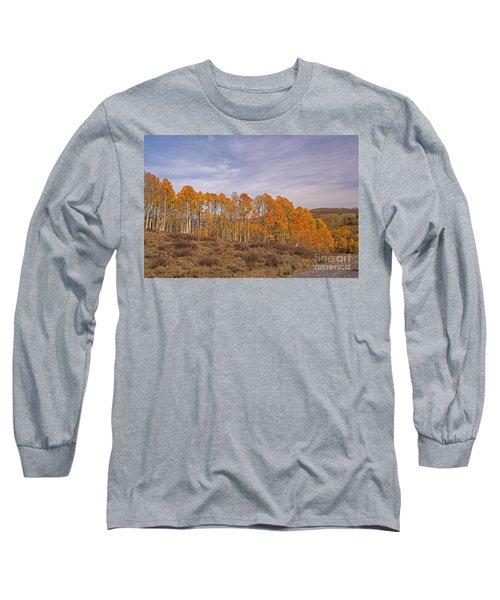 Aspens In Utah Long Sleeve T-Shirt