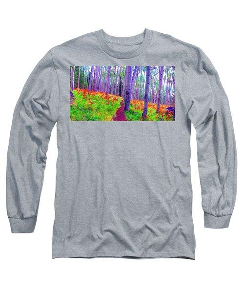 Aspens In Wonderland Long Sleeve T-Shirt