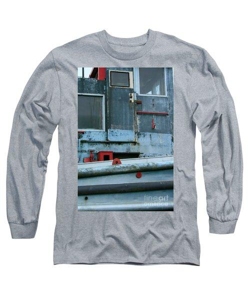 Astoria Ship Long Sleeve T-Shirt by Suzanne Lorenz