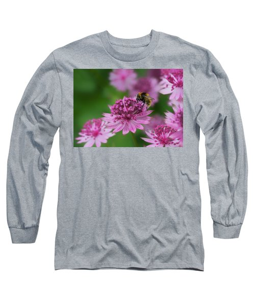 Pollination Long Sleeve T-Shirt by Shirley Mitchell