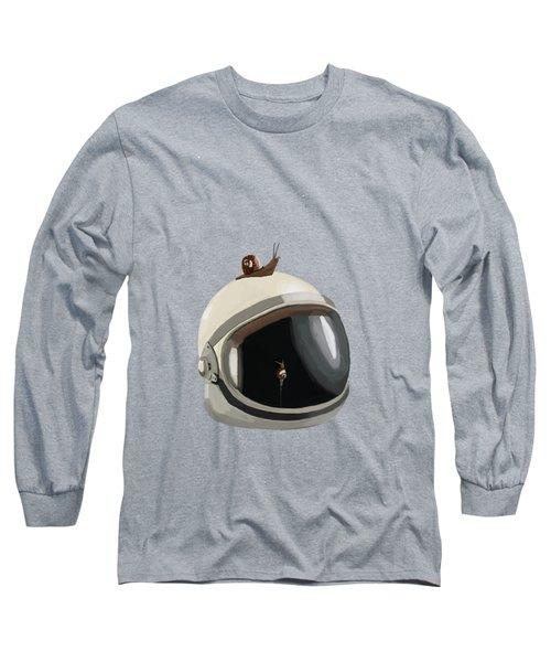 Astronaut's Helmet Long Sleeve T-Shirt