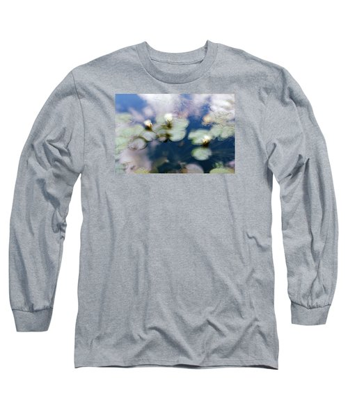 At Claude Monet's Water Garden 4 Long Sleeve T-Shirt