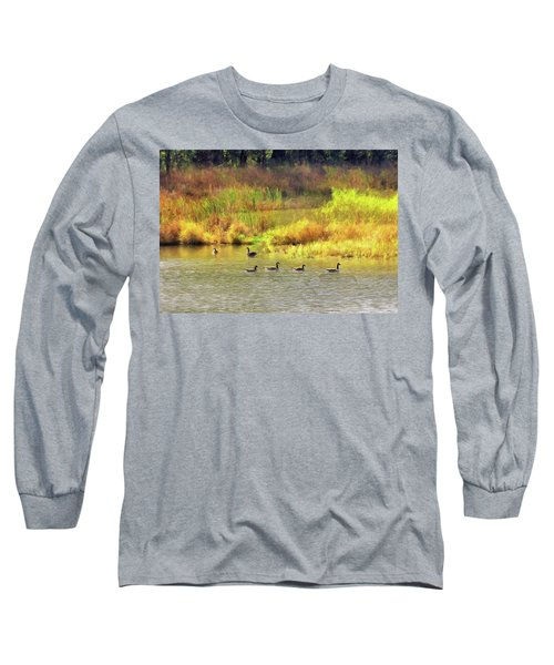 At Home In Monee Long Sleeve T-Shirt