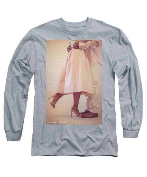 At Last Long Sleeve T-Shirt by Stefanie Silva