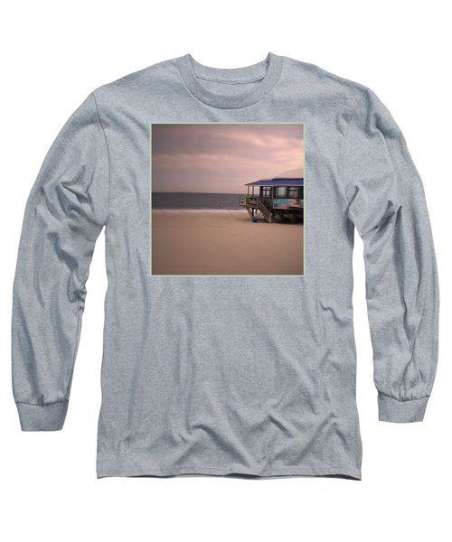 Long Sleeve T-Shirt featuring the photograph At The Beach by Desline Vitto