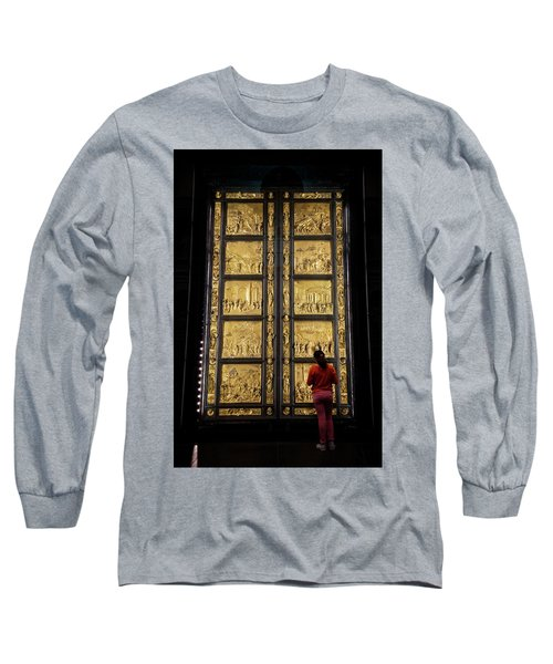 Long Sleeve T-Shirt featuring the photograph At The Gates Of Paradise by Joan Carroll