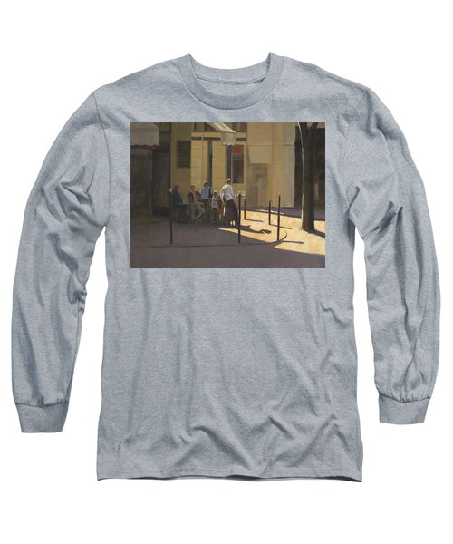 At The Street Cafe Long Sleeve T-Shirt