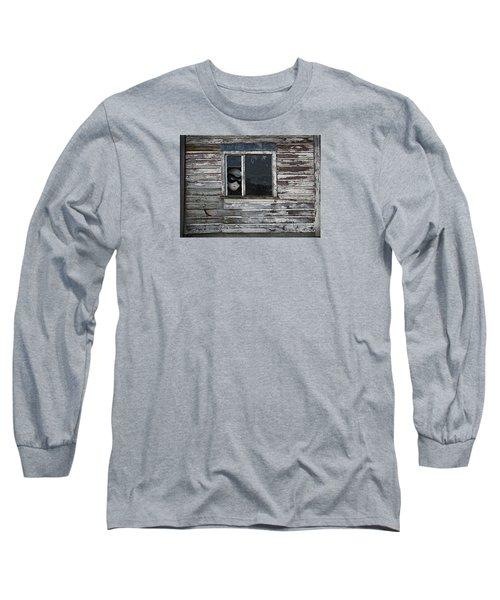 At The Window Long Sleeve T-Shirt by Nareeta Martin