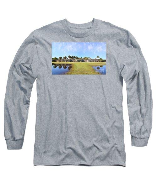 Atalaya Castle At Huntington Long Sleeve T-Shirt by Kathy Baccari
