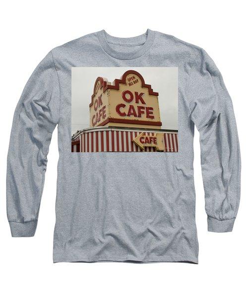 Atlanta Classic Ok Cafe Atlanta Restaurant Art Long Sleeve T-Shirt