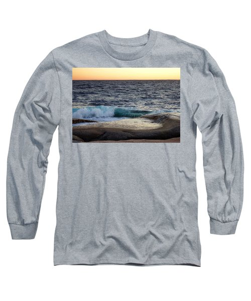 Atlantic Ocean, Nova Scotia Long Sleeve T-Shirt by Heather Vopni