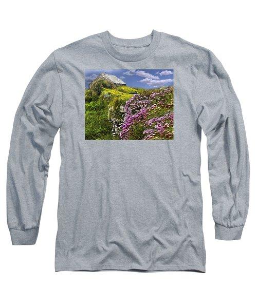 Atop A Crag Long Sleeve T-Shirt
