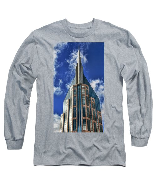 Long Sleeve T-Shirt featuring the photograph Att Nashville by Stephen Stookey