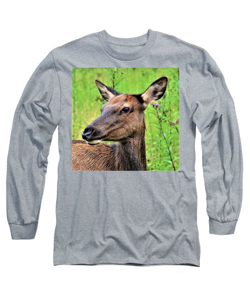 Attentive Yearling Long Sleeve T-Shirt