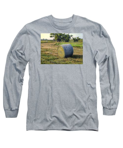 August Bale Study No.1 Long Sleeve T-Shirt