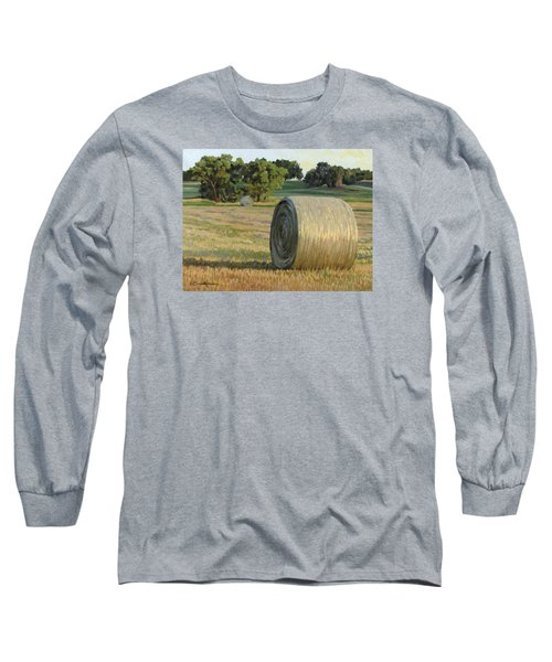 August Bales Long Sleeve T-Shirt by Bruce Morrison