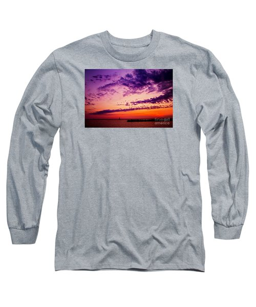Long Sleeve T-Shirt featuring the photograph August Night by Randall  Cogle
