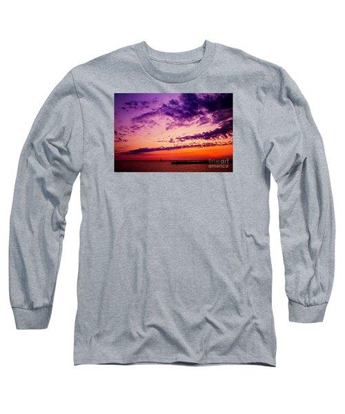 August Night Long Sleeve T-Shirt