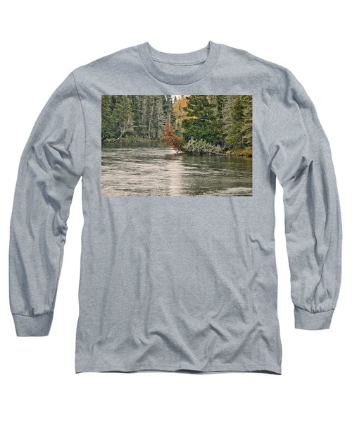 Ausable River 9899 Long Sleeve T-Shirt by Michael Peychich