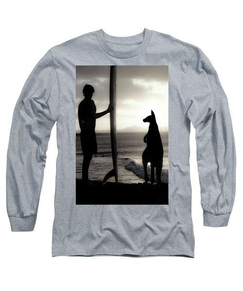 Aussie Surf Silhouettes Long Sleeve T-Shirt