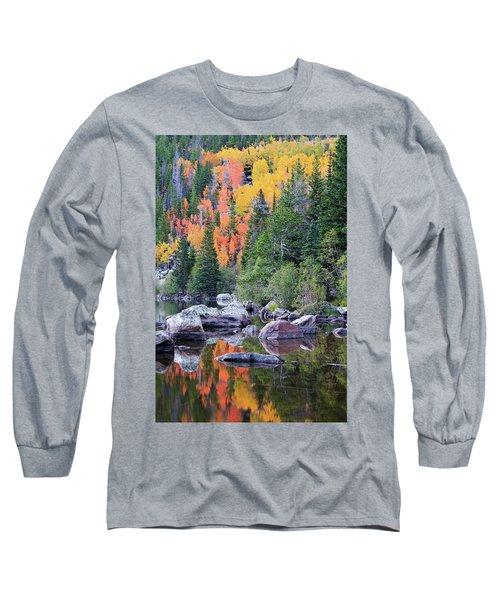 Autumn At Bear Lake Long Sleeve T-Shirt
