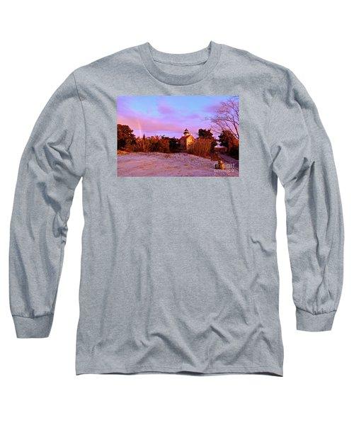 Autumn At East Point Lighthouse Long Sleeve T-Shirt