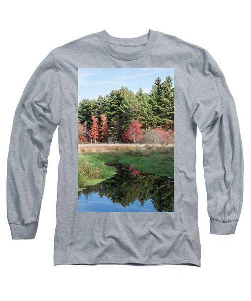 Autumn At The River Long Sleeve T-Shirt