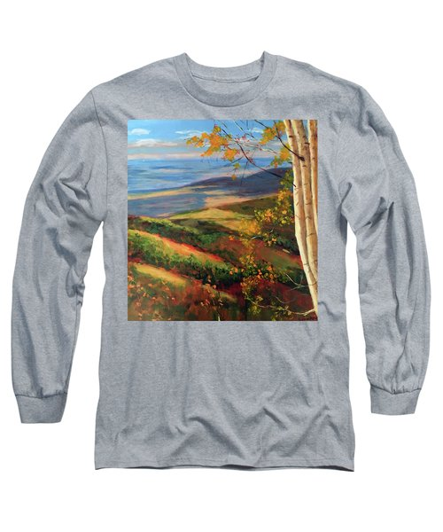 Autumn Birches Long Sleeve T-Shirt