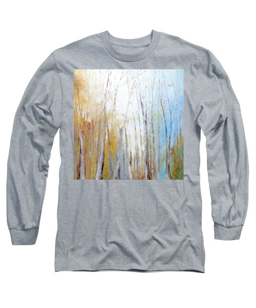 Autumn Bliss Long Sleeve T-Shirt by Dina Dargo