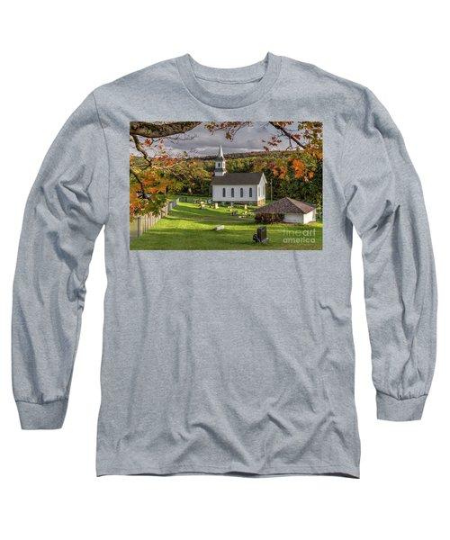 Autumn Church Long Sleeve T-Shirt