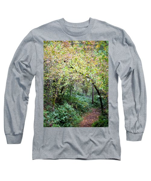 Autumn Colors In The Forest Long Sleeve T-Shirt