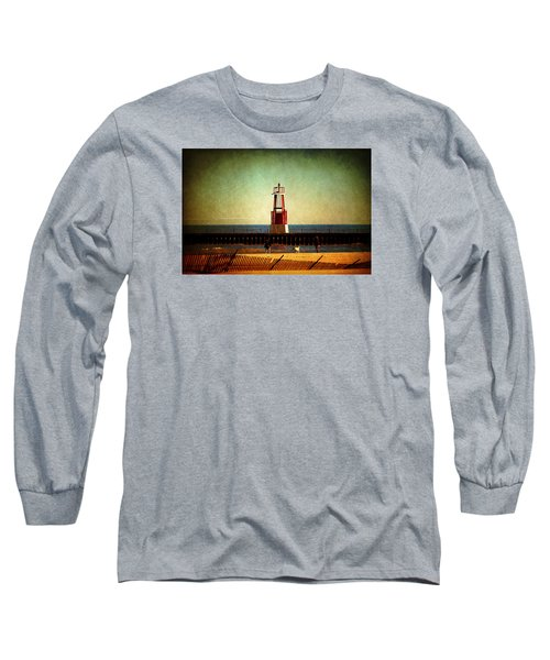 Autumn Fun In Chicago Long Sleeve T-Shirt by Milena Ilieva