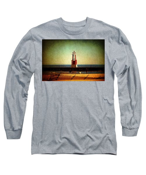 Autumn Fun In Chicago Long Sleeve T-Shirt