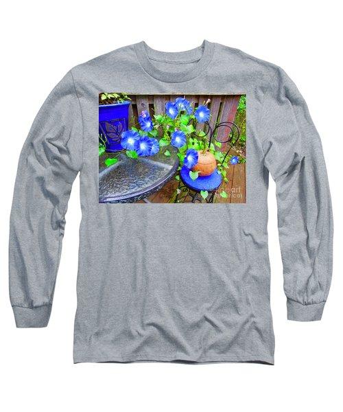 Autumn Heavenly Blues  Long Sleeve T-Shirt