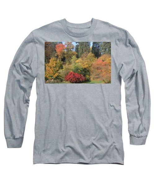 Autumn In Baden Baden Long Sleeve T-Shirt
