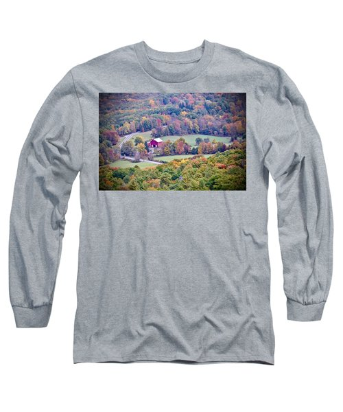 Autumn View, Mohonk Preserve Long Sleeve T-Shirt