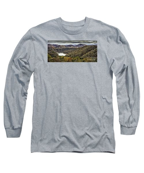 Autumn In The Mountains At Fontana Lake Long Sleeve T-Shirt
