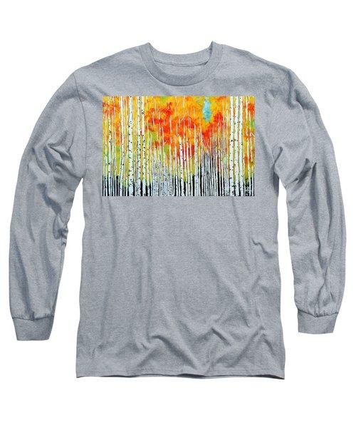 Autumn Long Sleeve T-Shirt by Jackie Carpenter