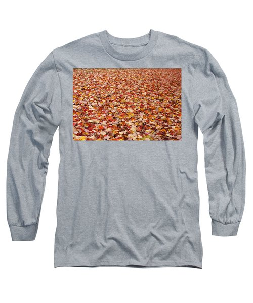 Autumn Leaves Long Sleeve T-Shirt