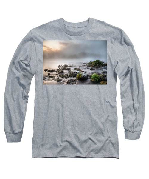Autumn Morning Long Sleeve T-Shirt by Davorin Mance