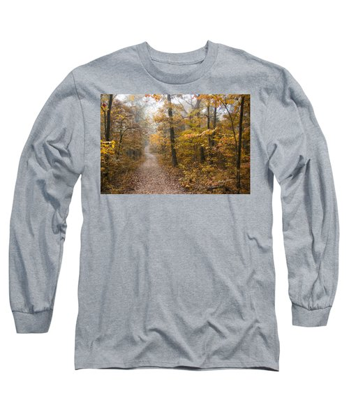 Autumn Morning Long Sleeve T-Shirt by Ricky Dean