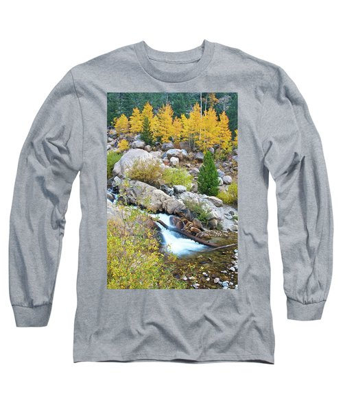 Long Sleeve T-Shirt featuring the photograph Autumn Peace by Gary Lengyel