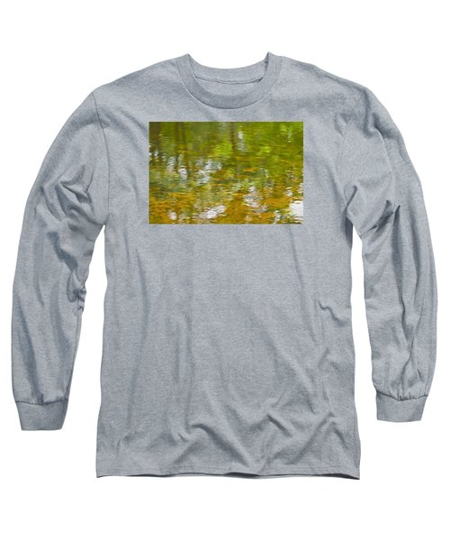 Long Sleeve T-Shirt featuring the photograph Autumn Reflections by Wanda Krack